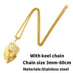 A with keel chain